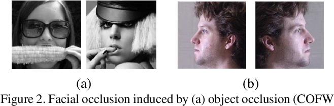 Figure 3 for Simultaneous Facial Landmark Detection, Pose and Deformation Estimation under Facial Occlusion