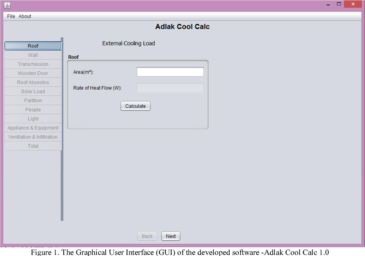 PDF] Development of a System Framework that Estimate Cooling