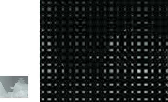 Figure 1 for Resolution Enhancement of Range Images via Color-Image Segmentation