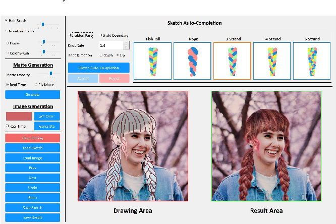 Figure 4 for SketchHairSalon: Deep Sketch-based Hair Image Synthesis