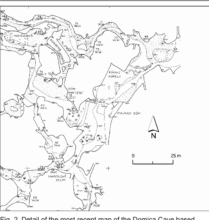D Cave Map on