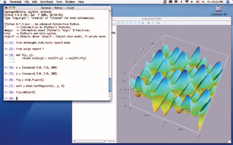 Figure 9 from Ipython: a System for Interactive Scientific