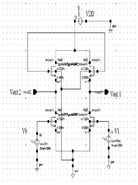 Figure 3 From Design Of Vco With Harmonic Extraction Circuits