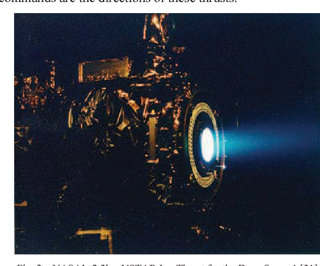 Fig. 2. NASA's 2.3kw NSTAR Ion Thrust for the D