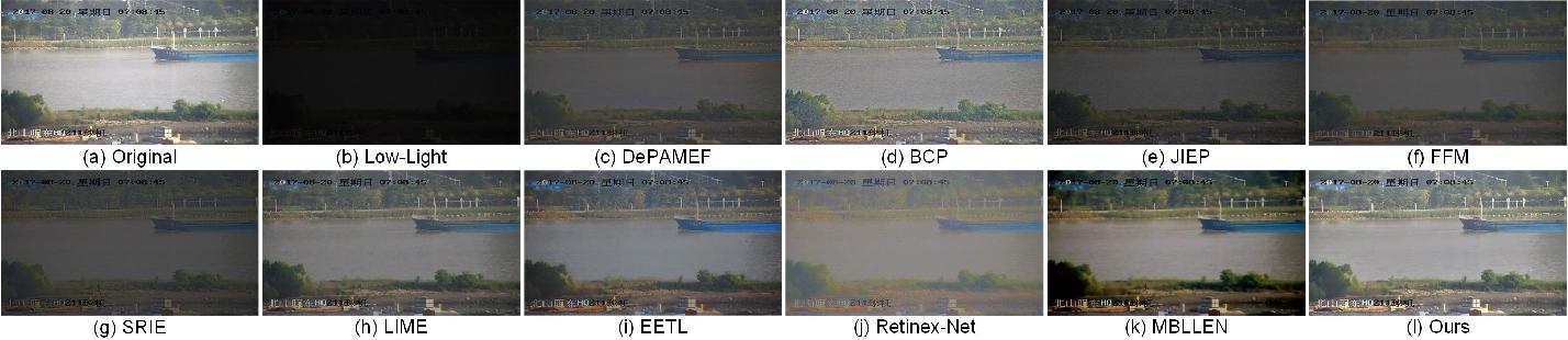 Figure 2 for Low-Light Maritime Image Enhancement with Regularized Illumination Optimization and Deep Noise Suppression