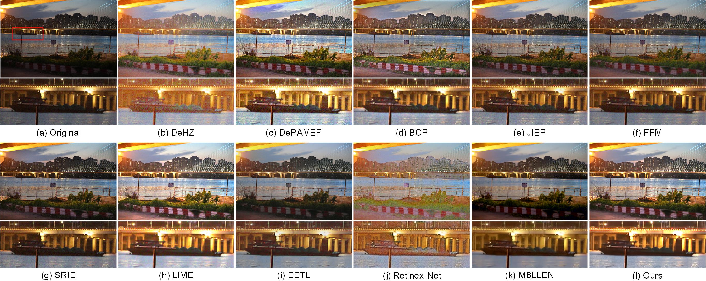Figure 3 for Low-Light Maritime Image Enhancement with Regularized Illumination Optimization and Deep Noise Suppression