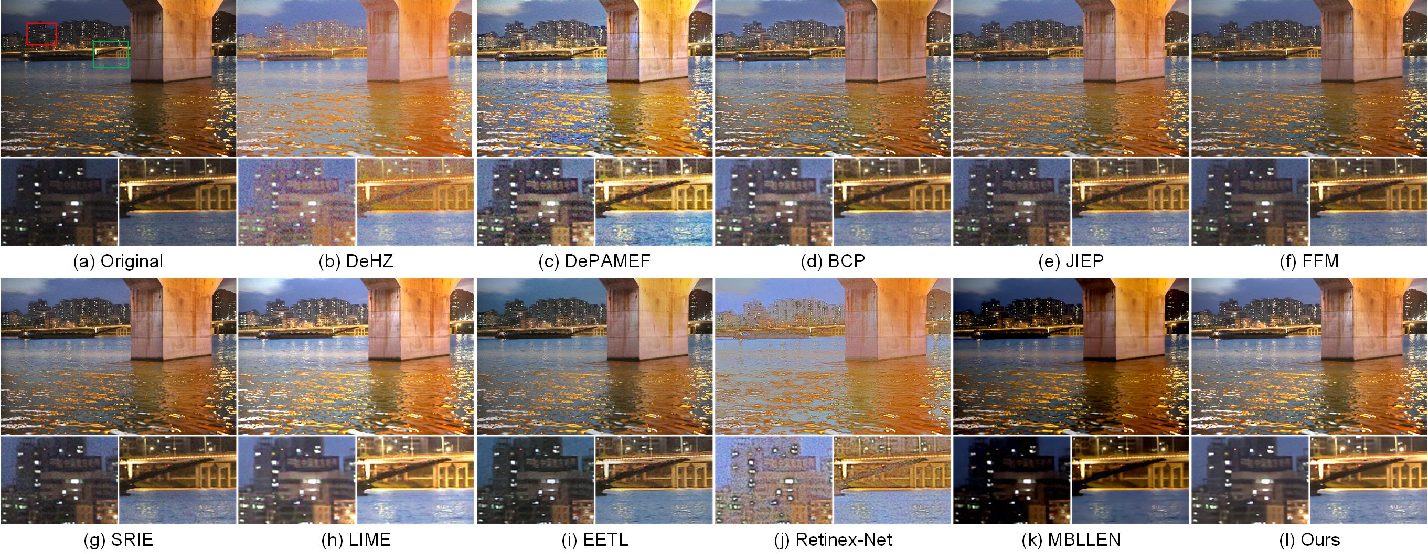 Figure 4 for Low-Light Maritime Image Enhancement with Regularized Illumination Optimization and Deep Noise Suppression