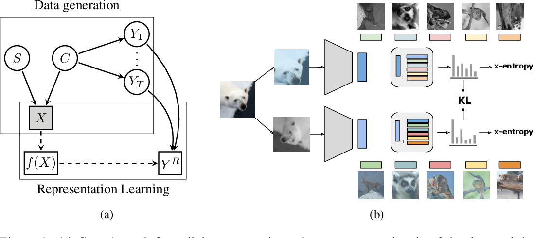 Figure 1 for Representation Learning via Invariant Causal Mechanisms