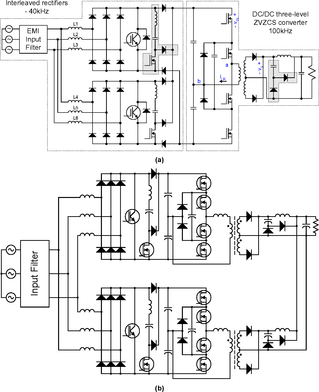 pdf] three phase power factor correction circuits for low costFigure 2 Rotary Converter Scheme L1 L2 And L3 Are The Three Phases #11
