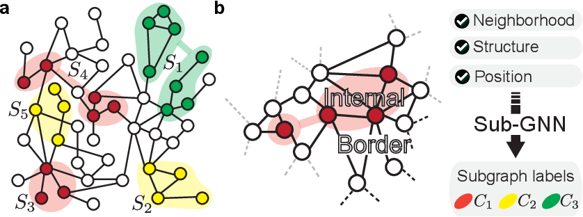 Figure 1 for Subgraph Neural Networks