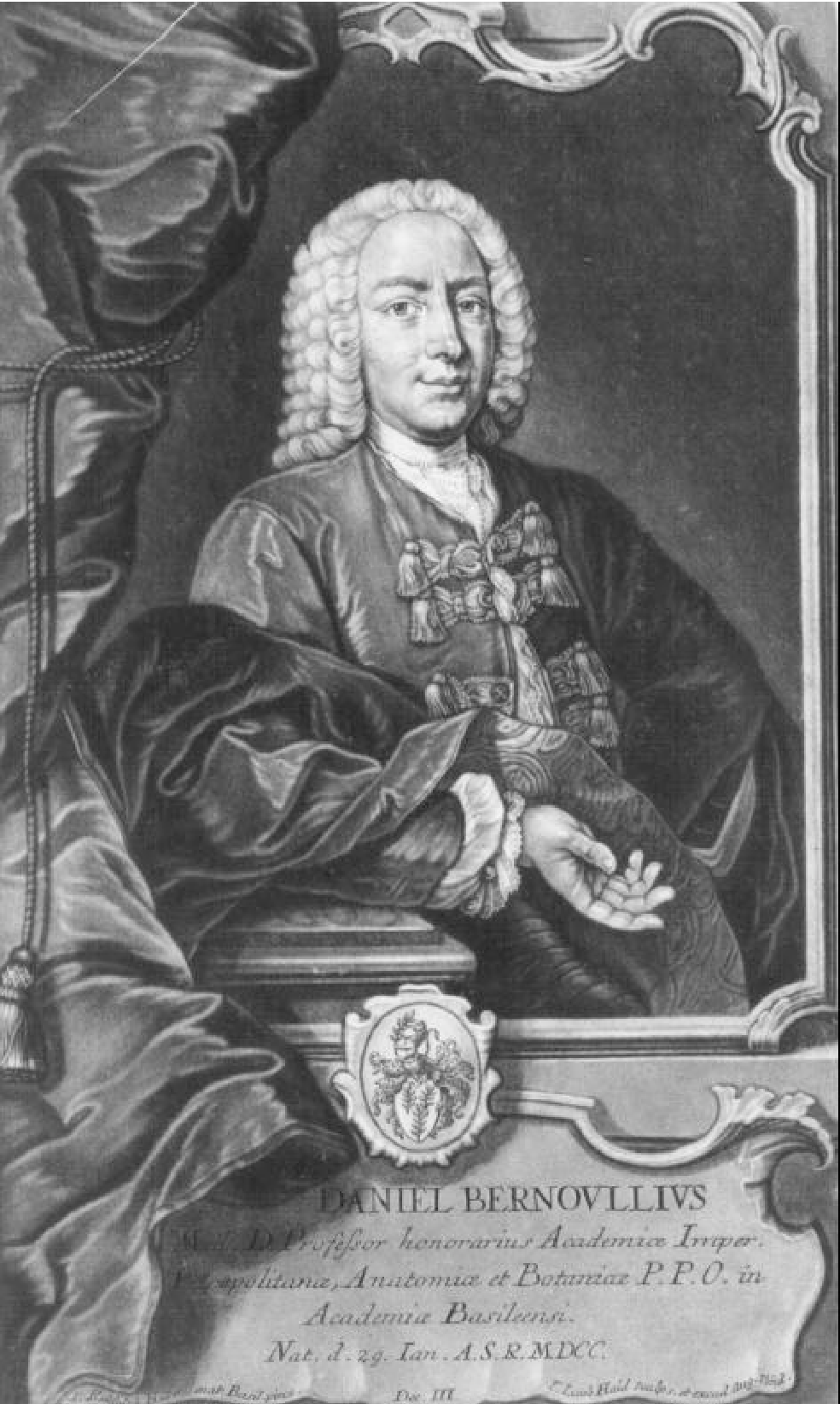 Physicist Daniel Bernoulli: biography, discoveries and interesting facts 4