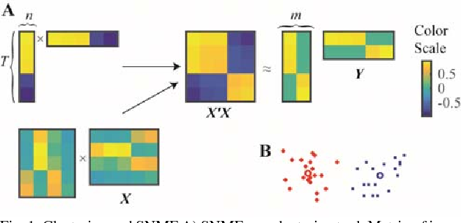 Figure 1 for A Hebbian/Anti-Hebbian Network Derived from Online Non-Negative Matrix Factorization Can Cluster and Discover Sparse Features