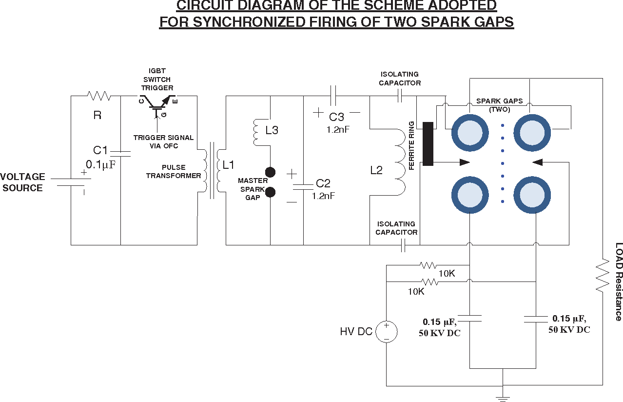 Novel Synchronization Technique For Two Parallel Connected Sparkgap Igbt Switch Figure 2