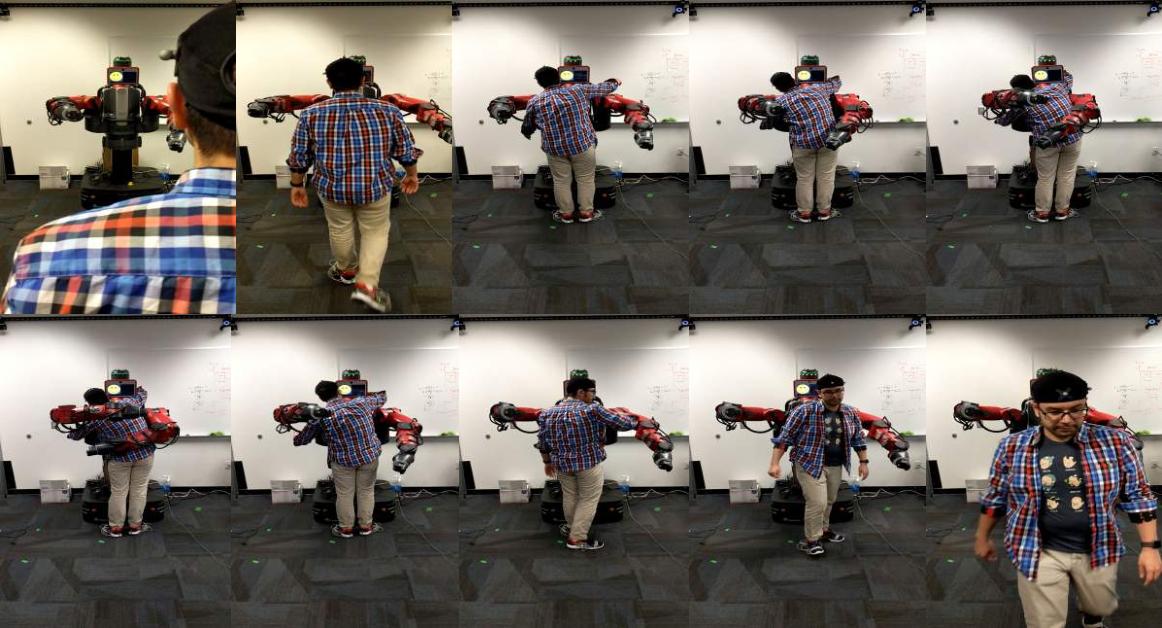 Figure 1 for Multimodal Dataset of Human-Robot Hugging Interaction
