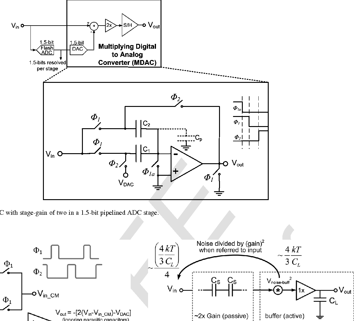 A Low Power Capacitive Charge Pump Based Pipelined Adc Semantic Bit Ad Converter Circuit Adconverter Addaconvertercircuit Scholar