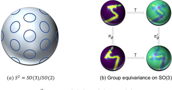 Figure 2 for PDO-e$\text{S}^\text{2}$CNNs: Partial Differential Operator Based Equivariant Spherical CNNs