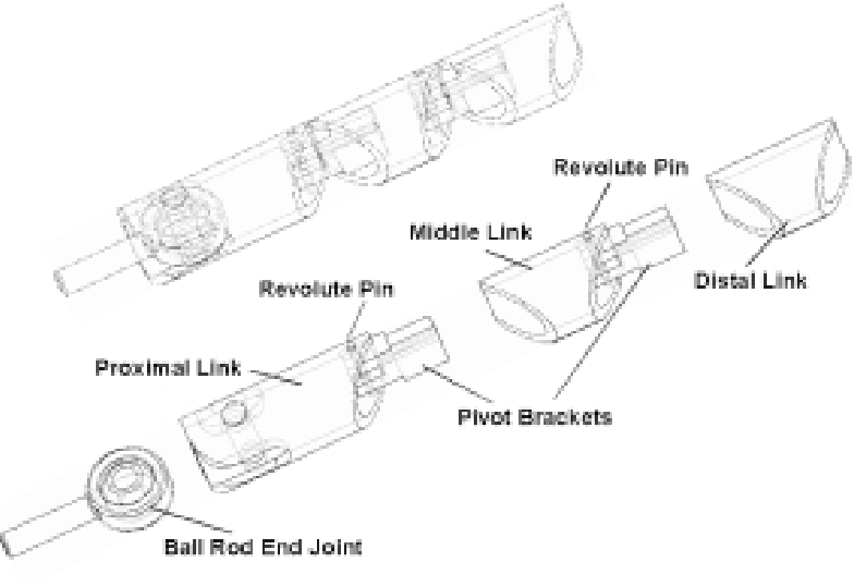 Fig. 4. Finger prototype assembly drawing.