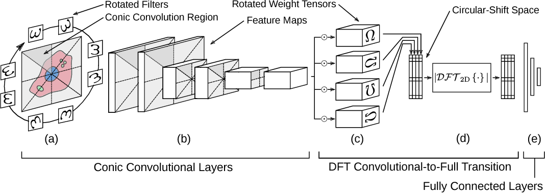 Figure 1 for Rotation Equivariance and Invariance in Convolutional Neural Networks
