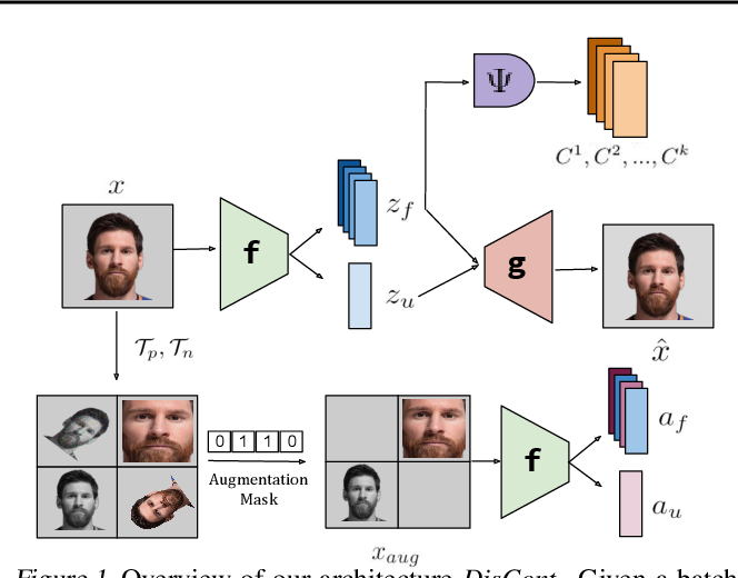Figure 1 for DisCont: Self-Supervised Visual Attribute Disentanglement using Context Vectors