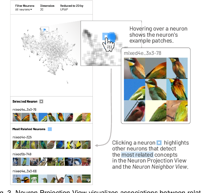 Figure 3 for NeuroCartography: Scalable Automatic Visual Summarization of Concepts in Deep Neural Networks