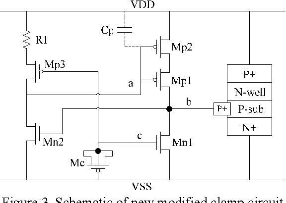 Figure 3. Schematic of new modified clamp circuit