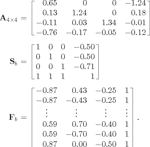 Fig. 12. Systematic error in camera rotation angle θc = phase(eig(H)) in terms of the distance ratio ρ. The homography H is estimated using image feature correspondence when the true θc is 10◦.