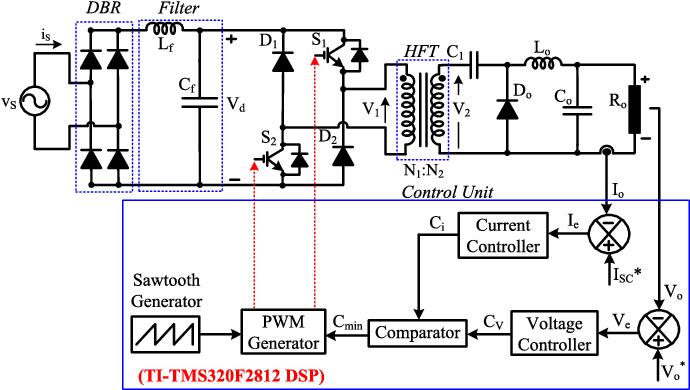 Welding Power Supply Schematic Diagram on