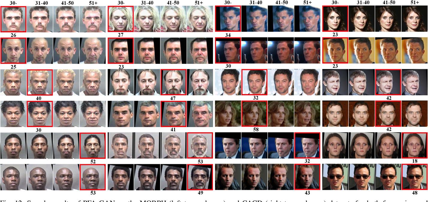 Figure 4 for PFA-GAN: Progressive Face Aging with Generative Adversarial Network