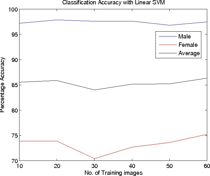 Gender classification using support vector machines - Semantic Scholar