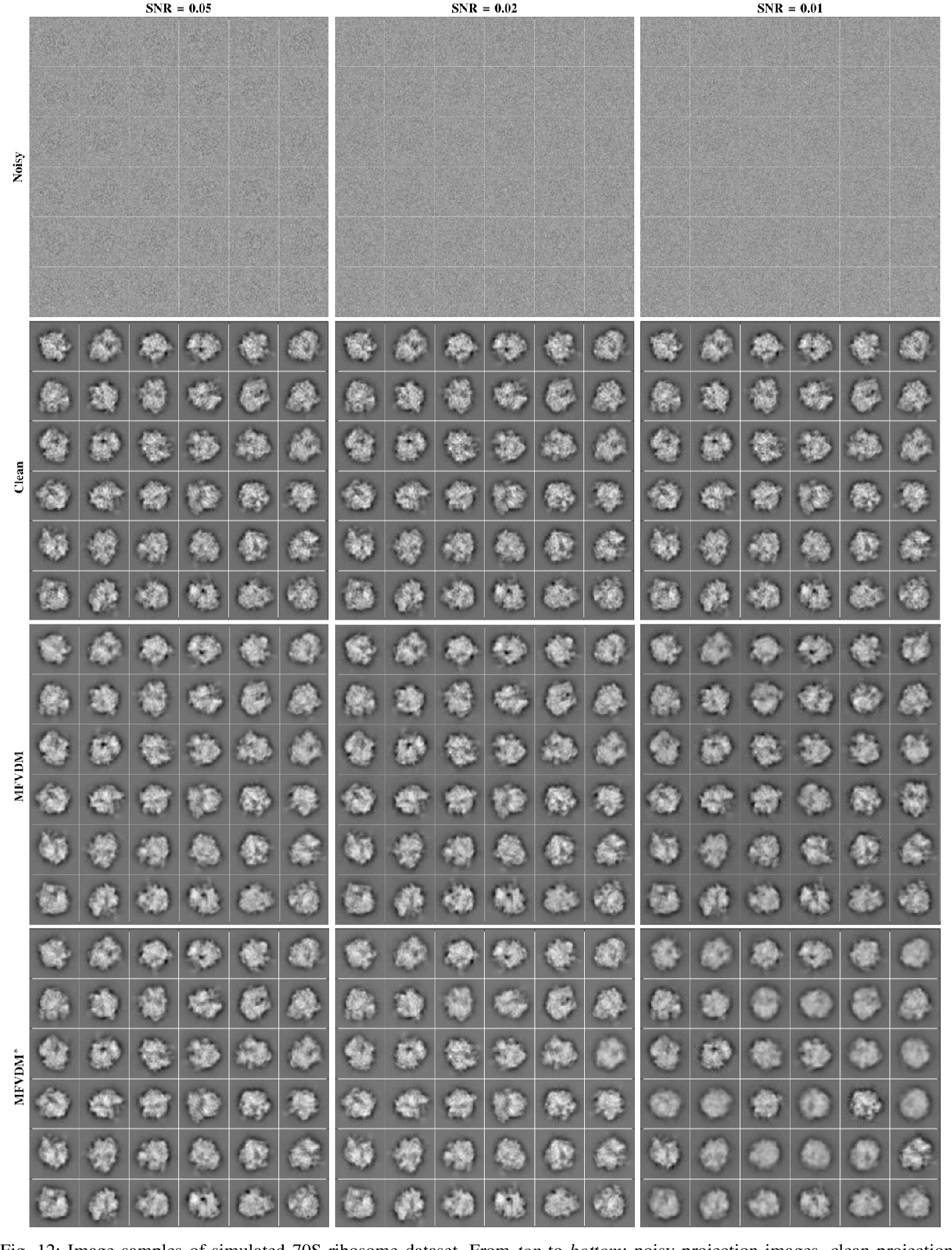 Figure 4 for Cryo-Electron Microscopy Image Analysis Using Multi-Frequency Vector Diffusion Maps