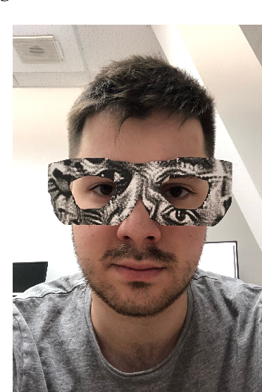 Figure 3 for On adversarial patches: real-world attack on ArcFace-100 face recognition system