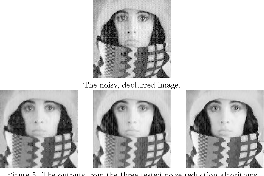 PDF] Image Deblurring and Noise Reduction in Python TJHSST Senior