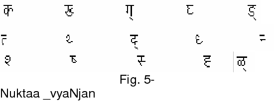 Table 1 from Brief review of research on Devanagari script