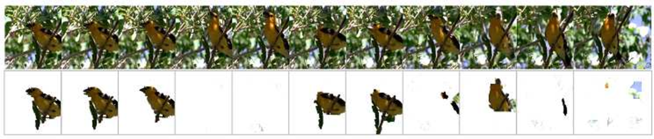 Figure 2 for Fully automatic extraction of salient objects from videos in near real-time