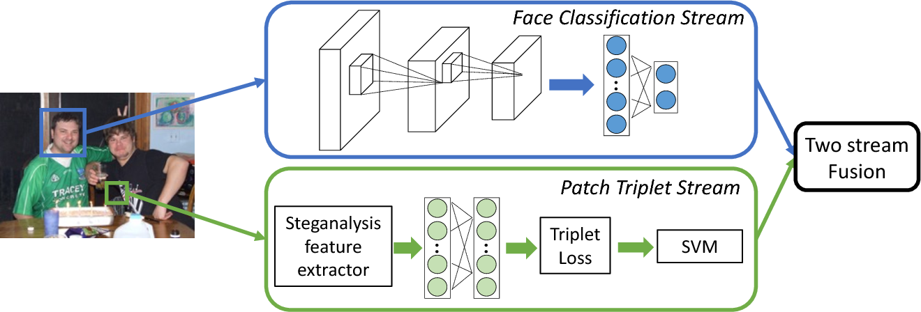 Figure 3 for Two-Stream Neural Networks for Tampered Face Detection