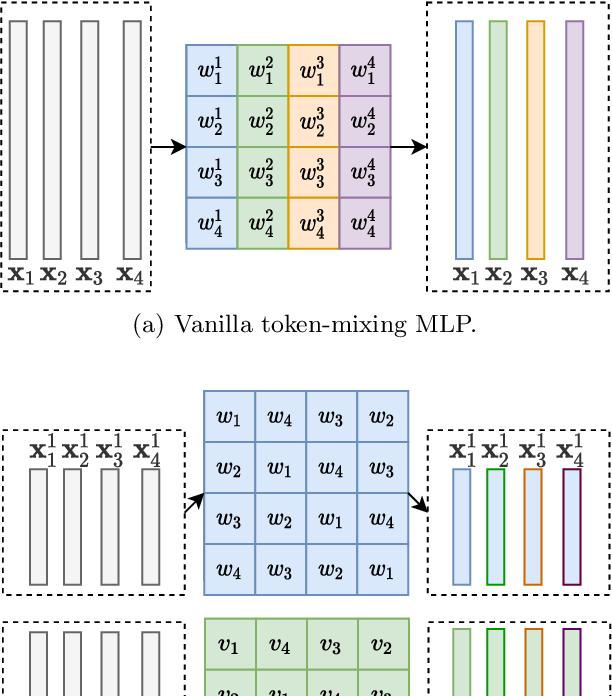 Figure 2 for Rethinking Token-Mixing MLP for MLP-based Vision Backbone