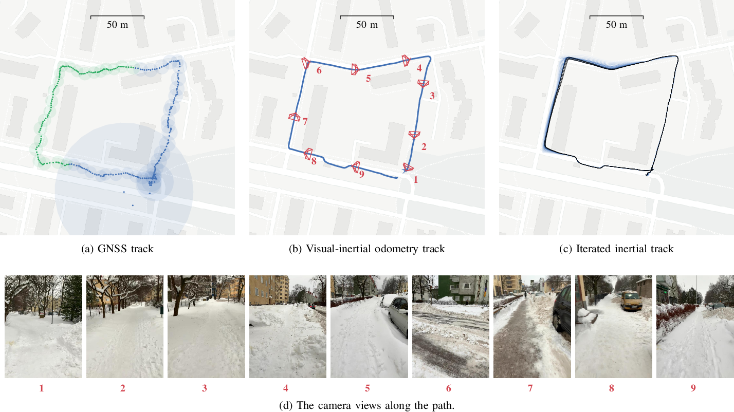 Figure 3 for Iterative Path Reconstruction for Large-Scale Inertial Navigation on Smartphones