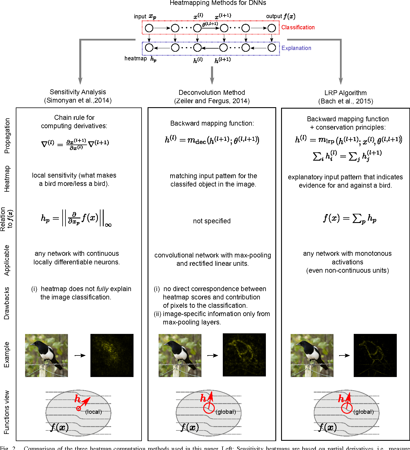 Figure 2 for Evaluating the visualization of what a Deep Neural Network has learned