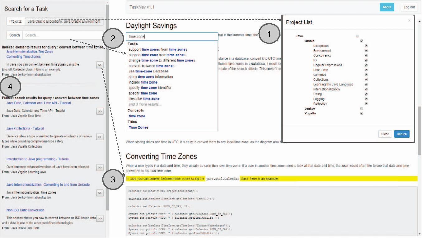 Figure 1 from TaskNav: Task-Based Navigation of Software