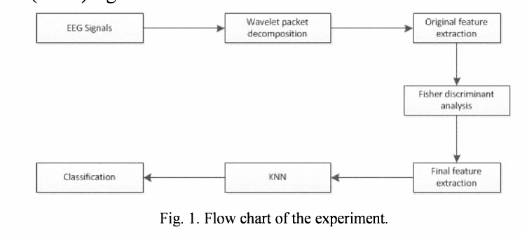 Fig. 1. Flow chart of the experiment.