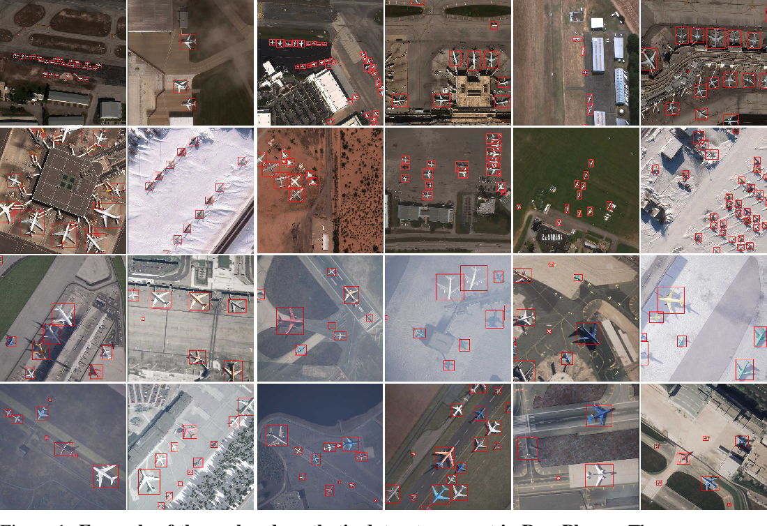 Figure 1 for RarePlanes: Synthetic Data Takes Flight