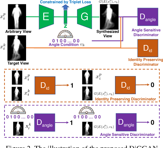 Figure 3 for Robust Cross-View Gait Identification with Evidence: A Discriminant Gait GAN (DiGGAN) Approach on 10000 People