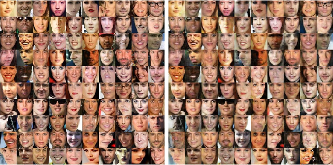 Figure 3 for Correction by Projection: Denoising Images with Generative Adversarial Networks