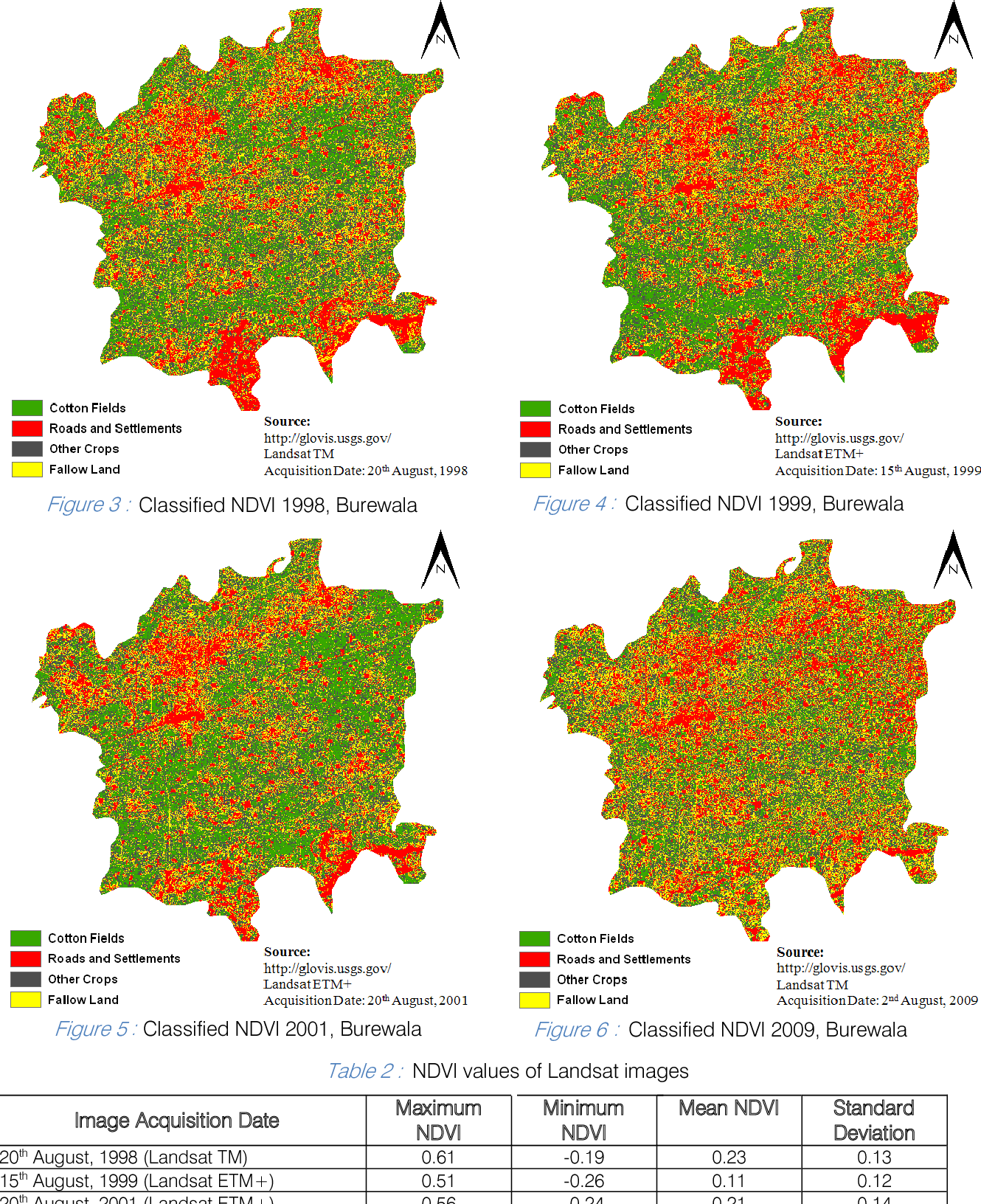 Figure 6 from The Utilization of MODIS and Landsat TMETM +