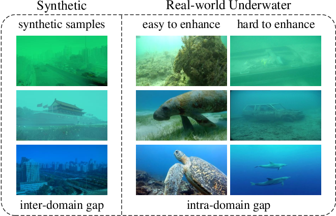 Figure 1 for Domain Adaptation for Underwater Image Enhancement