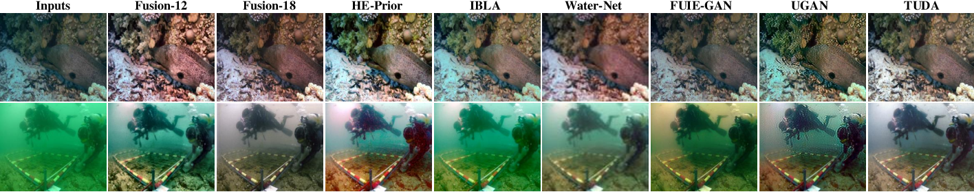 Figure 3 for Domain Adaptation for Underwater Image Enhancement