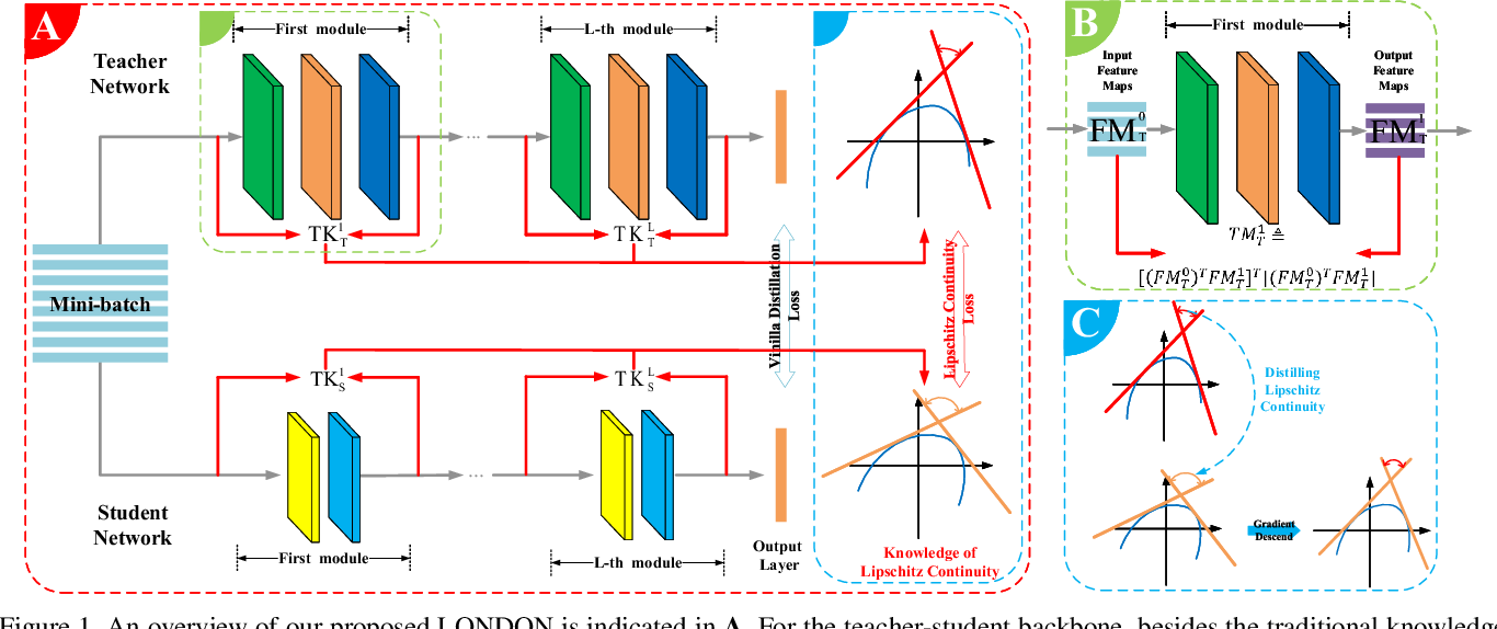 Figure 1 for Lipschitz Continuity Guided Knowledge Distillation