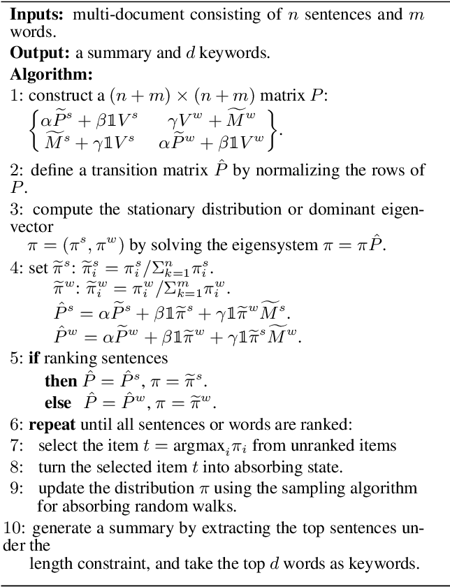 Figure 3 for Unsupervised Summarization by Jointly Extracting Sentences and Keywords
