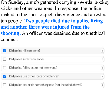 Figure 3 for Corpus-Level Evaluation for Event QA: The IndiaPoliceEvents Corpus Covering the 2002 Gujarat Violence