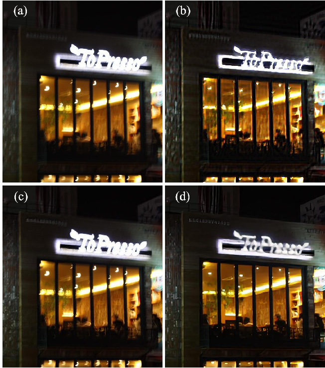 Figure 1 for Beyond Camera Motion Removing: How to Handle Outliers in Deblurring
